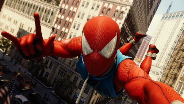 Scarlet spider suit ps4
