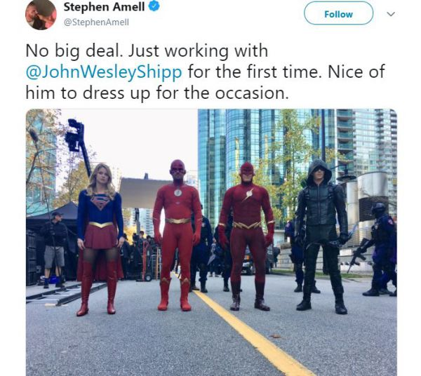 Elseworlds Flash Supergirl Arrow