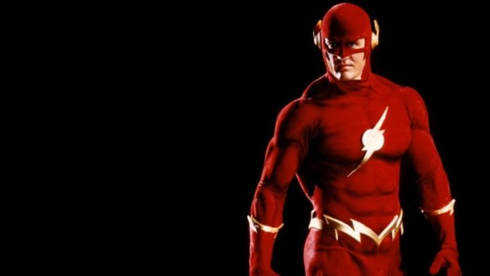 John Wesley Shipp as flash