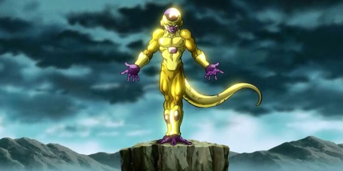 golden frieza vs goku