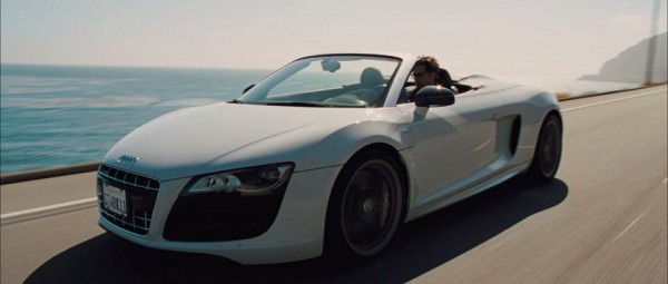 tony stark's audi in iron man fact