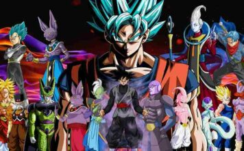 all powerful & strongest dragon ball super characters