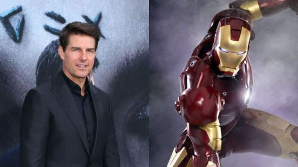 tom cruise as Iron Man