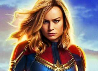 as Captain Marvel in Avengers: Infinity War trailer