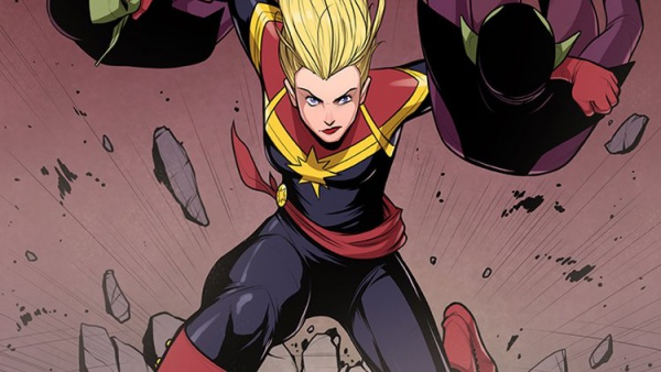 Captain Marvel fastest speedster