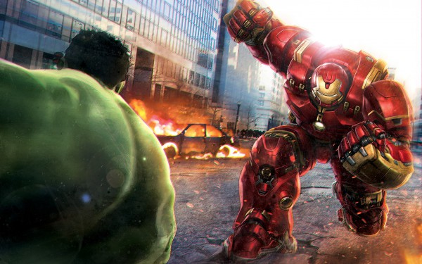Avengers age of ultron Hulkbuster vs hulk