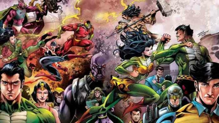 Best Indian superhero Raj Comics