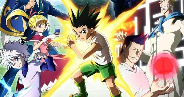 hunter x hunter gon freecss