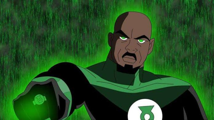 green lantern as black dc Comics Characters