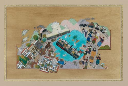 """MÜBADELE - """"BABAM MÜBADİL ADİL"""" (2013) Minyatür, Özgün tasarım"""