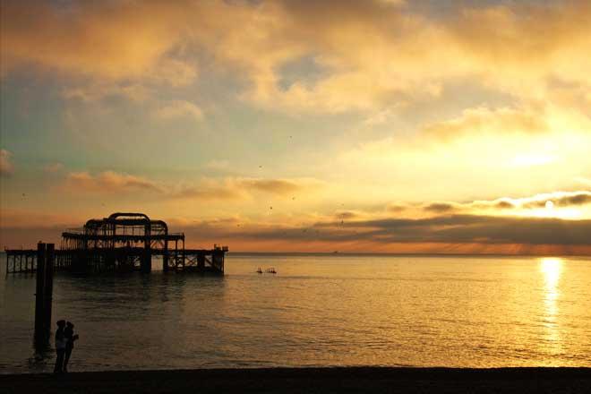 west pier brighton image