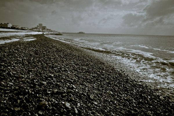 Brighton Beach Snow