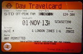 ticket train