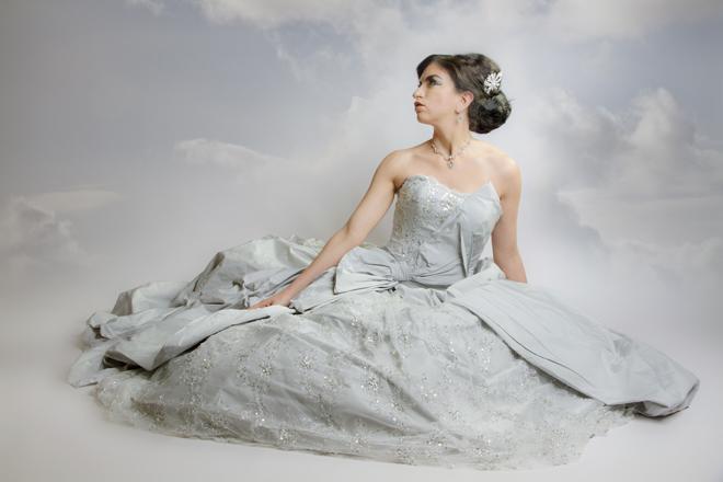 Wedding photography-bride-dreamy sky