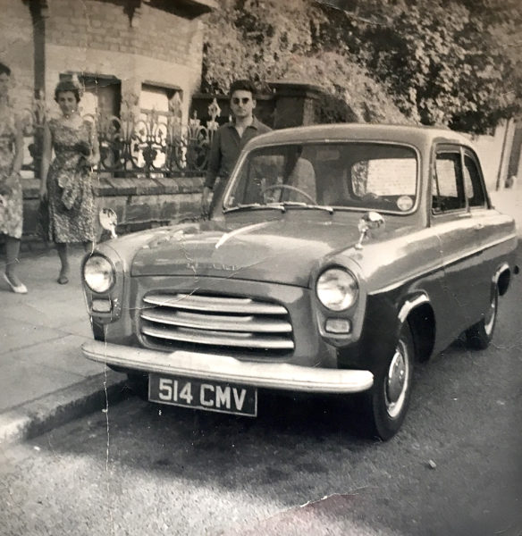 Human Connection, Stan with a 1960s Ford Popular