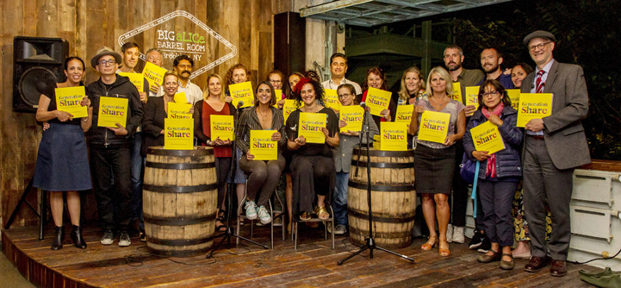 Generation Share Launch in Brooklyn at the Big Alice Brewery in September 2019