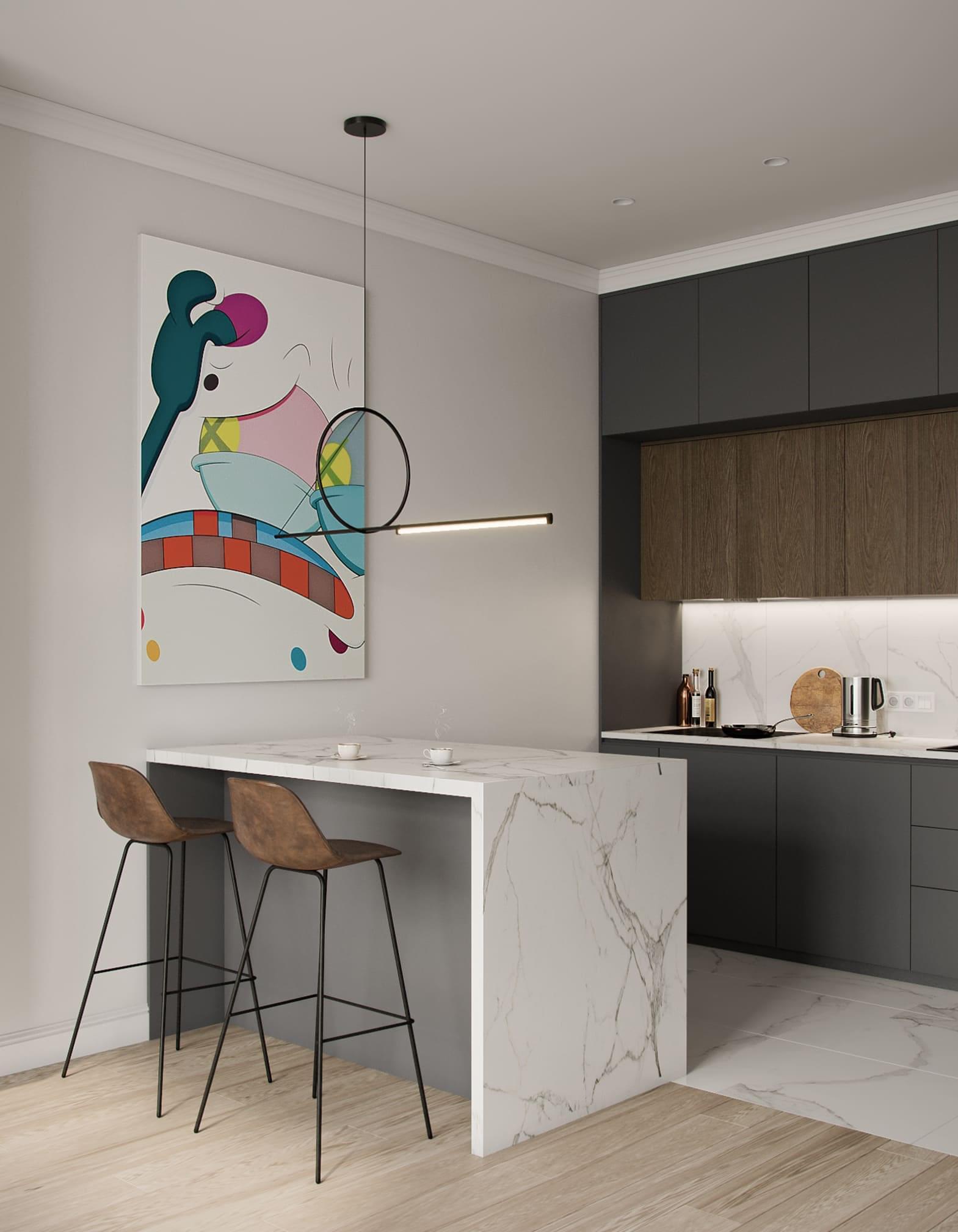 Дизайн-проект квартиры удаленно