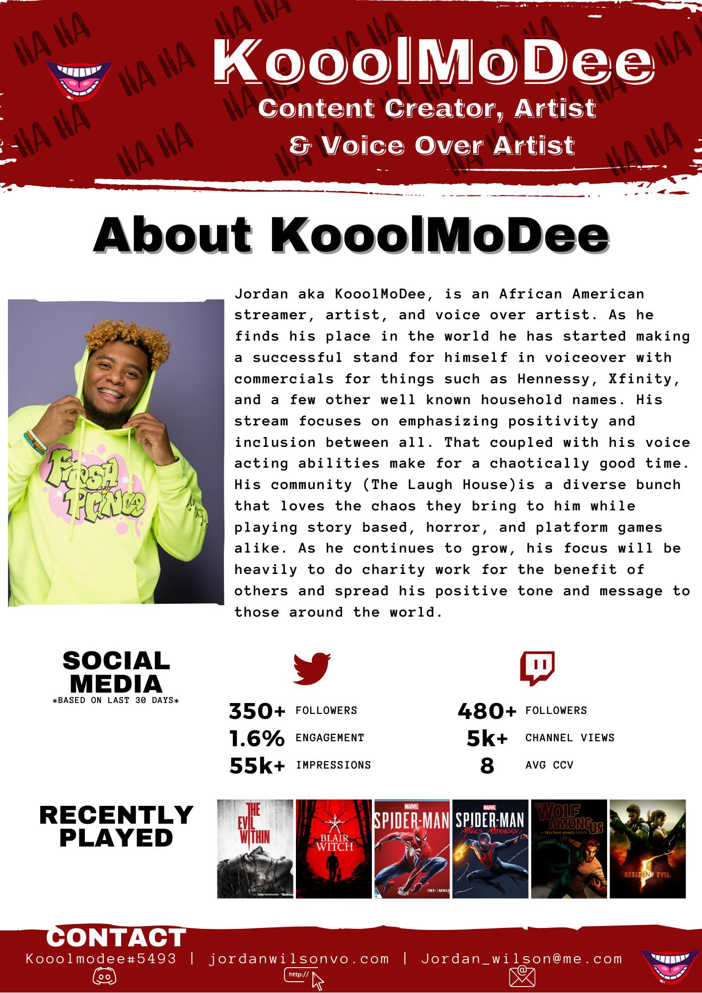 KoolMoDee Pitch Deck