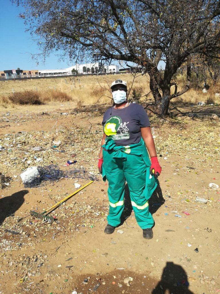 Eva Mokoena – the Tigress Woman on the Landfill