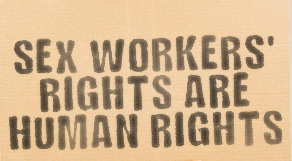 Up close with a sex worker- Human rights
