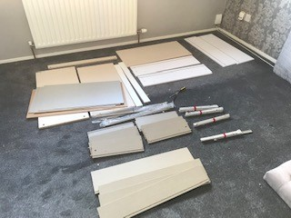 Wayfair Chest of drawers preparation