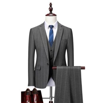 Costume homme mariage gris