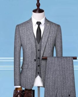 Costume rayé homme chic