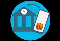 SendSpend bank transfer icon
