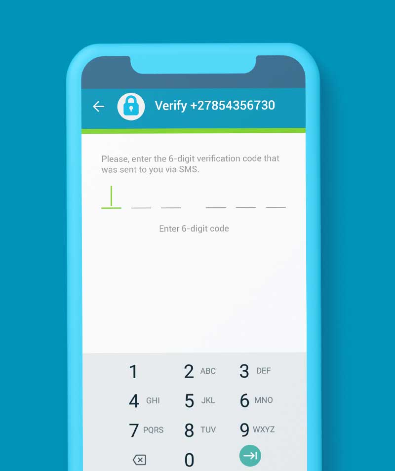 SendSpend OTP Functionality Screenshot