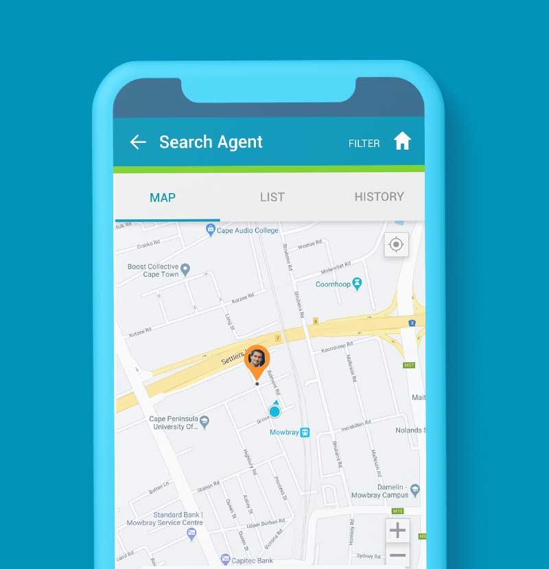 SendSpend has unique features such as the Search Function and Map Display