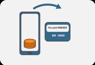 SendSpend Prepaid Vouchers icon