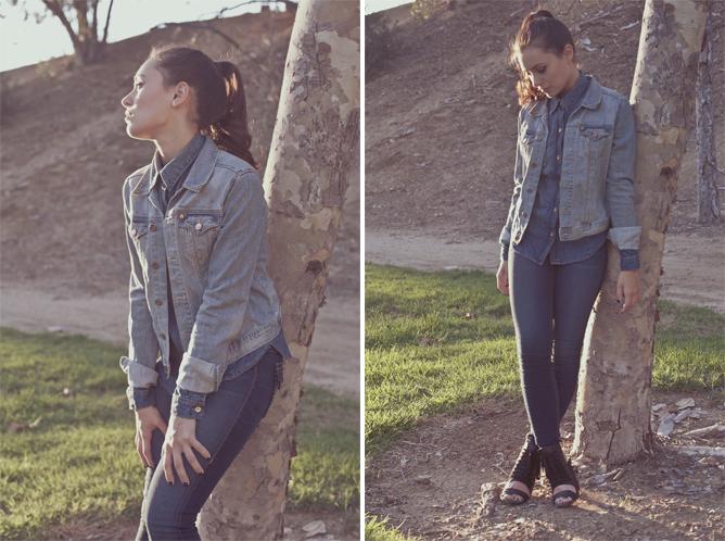 Marta Pozzan wears Originals by True Religion