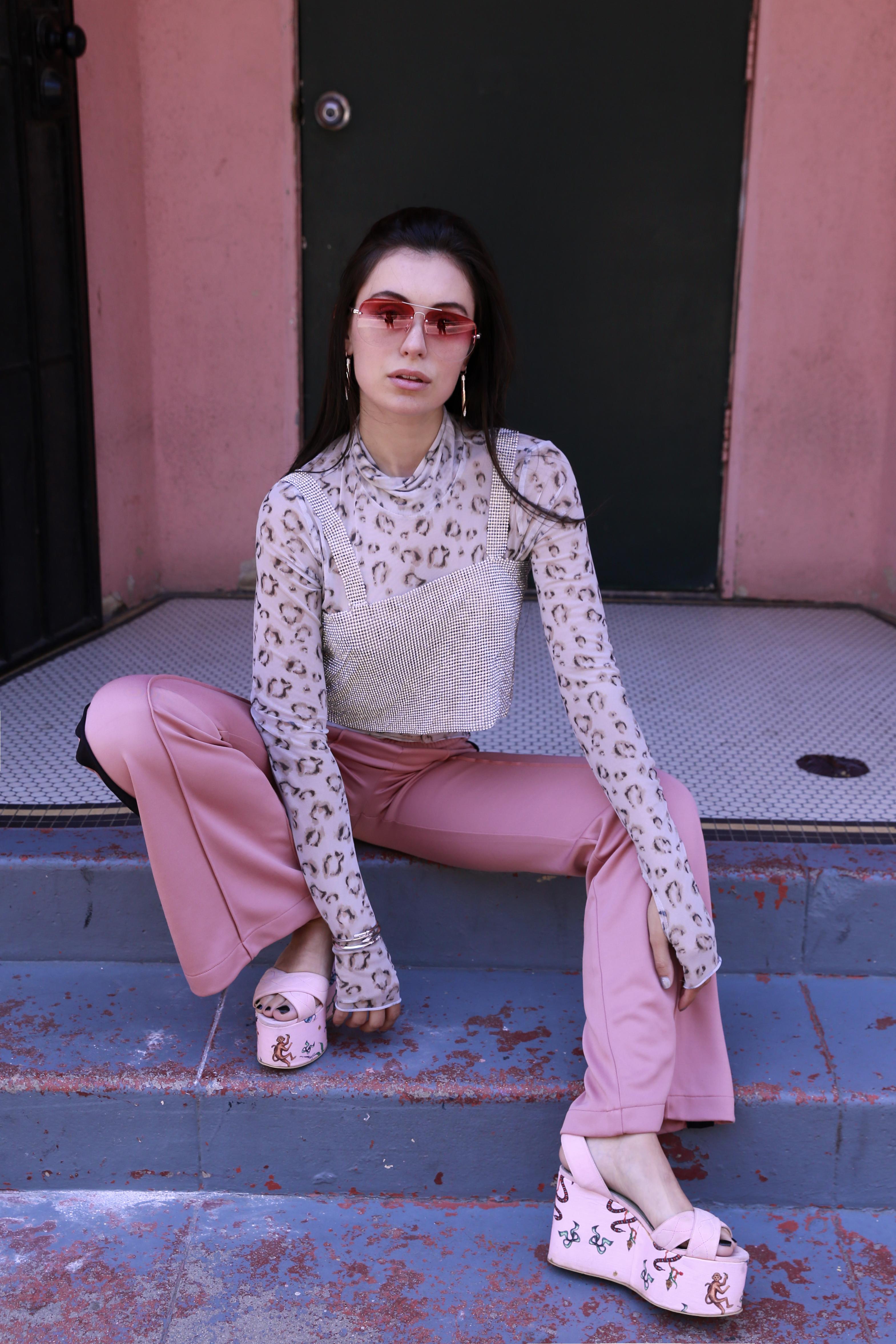Actress and Influener Marta Pozzan in Giannico - Pink Quay Australia