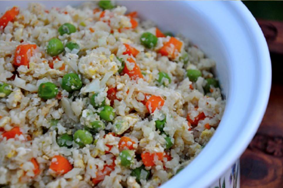 Stir Fried Cauliflower Rice