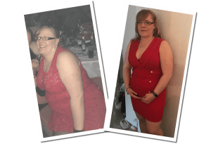 Tina lost 3 1/2 stone in our small group training programme
