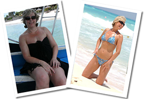 Wendy lost 4 1\2 stone with online coaching