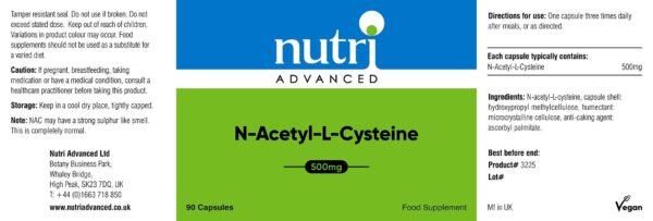 NAC Label