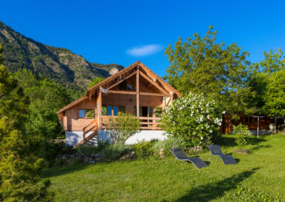 Chalet Carpe Diem in summer