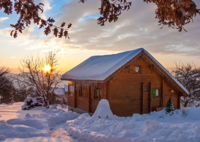 Arrival in winter – Chalet Carpe Diem in the snow