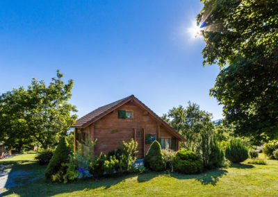Arriving at Chalet Carpe Diem in summer – 3*** Gîte de France in the Alps