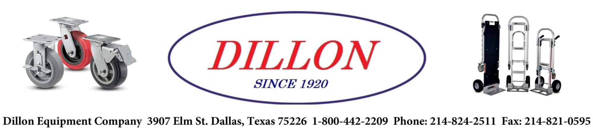 Dillon Equipment – Material Handling Equipment, Casters, Hand Trucks