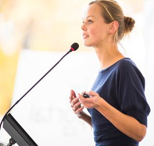 presentation skills training - image