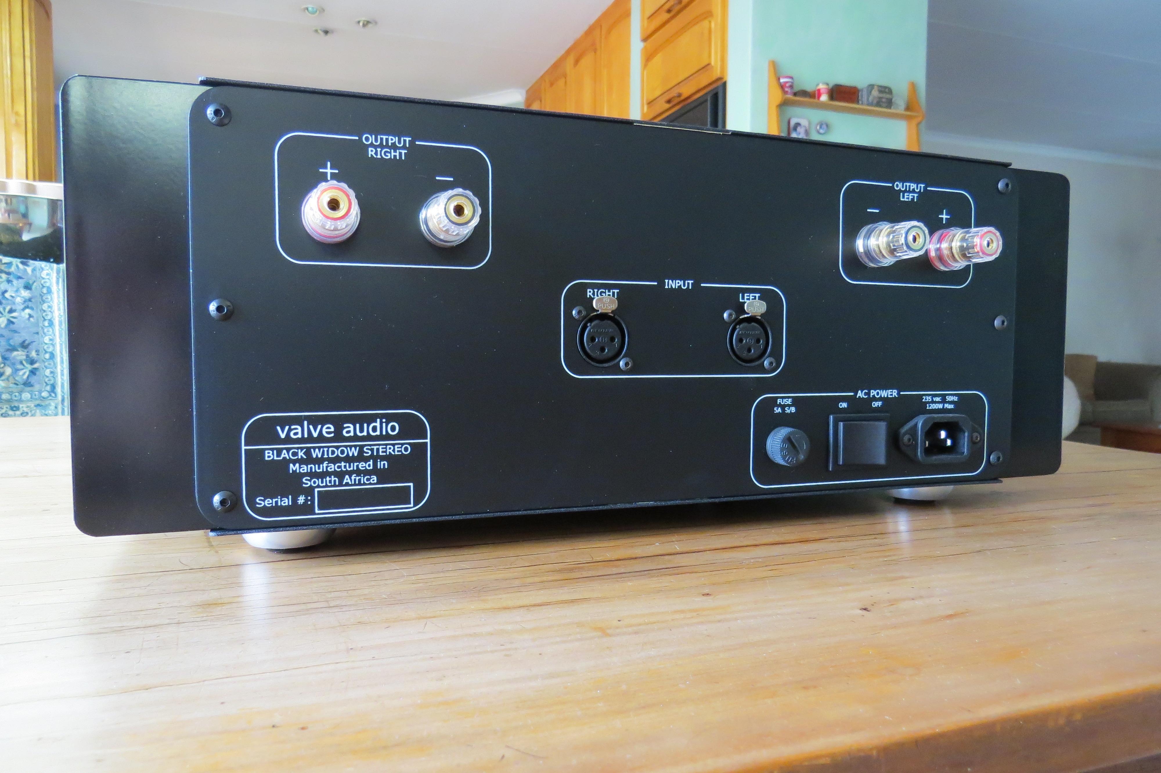 VA BlackWidow Amplifier