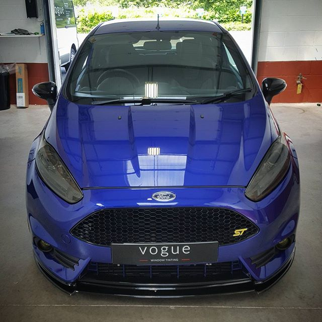 Ford Fiesta ST window tints by Vogue Window Tinting Barnsley