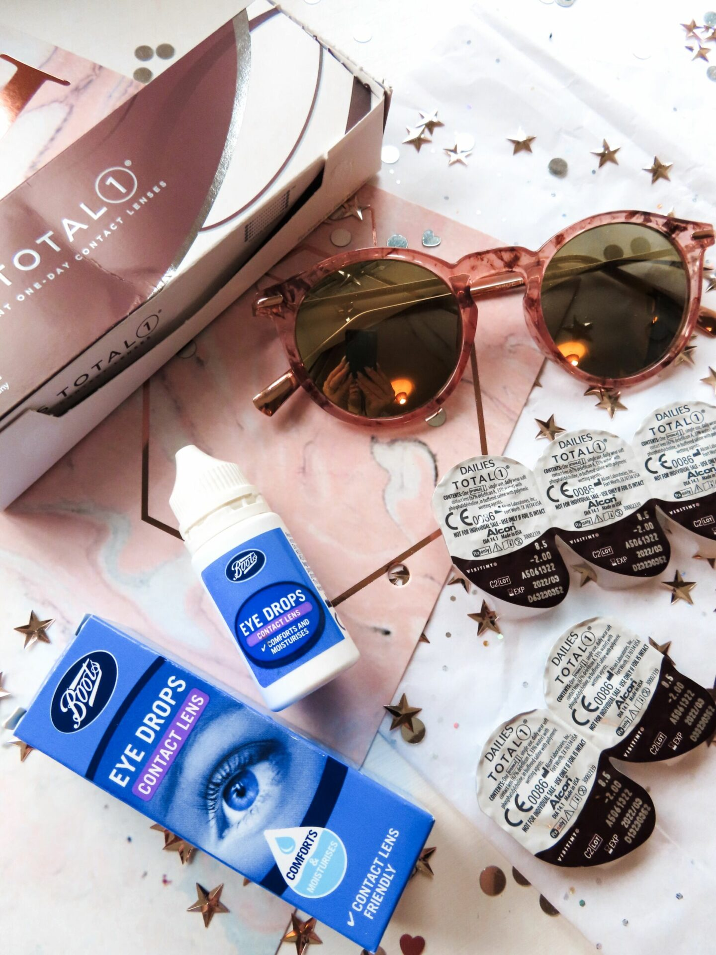 Dailies Total Contact Lenses