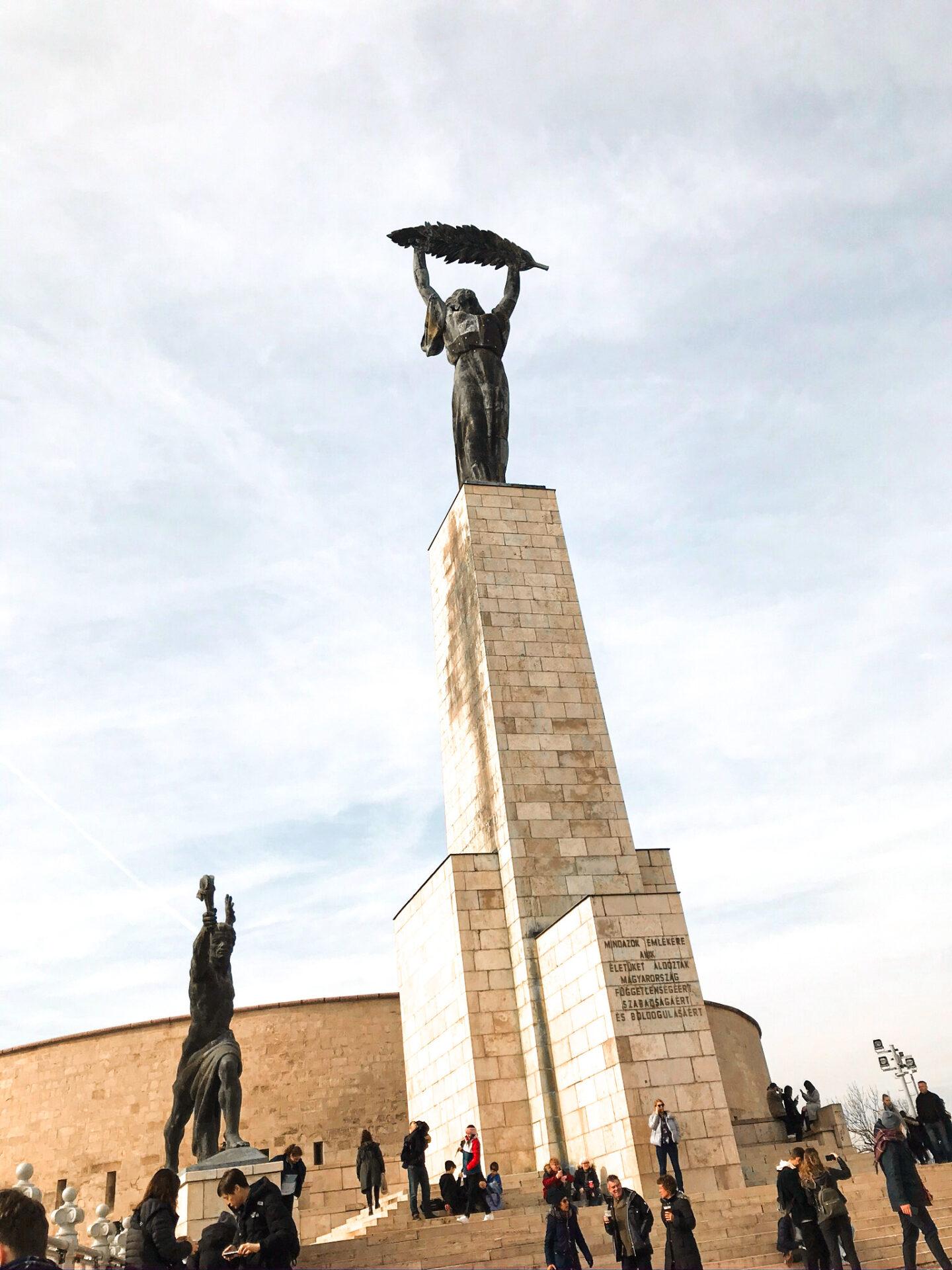 Statue of Liberty, Gellért Hill Budapest