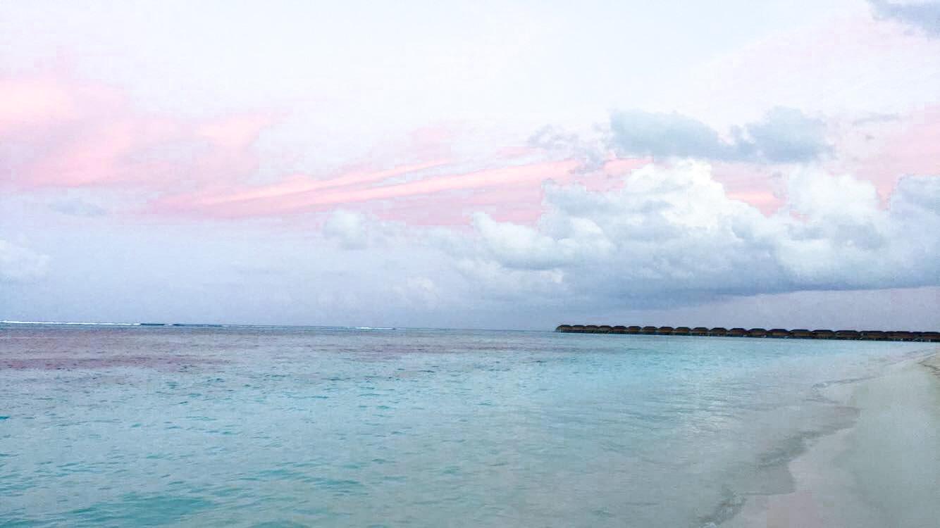 Meeru Island Sunset