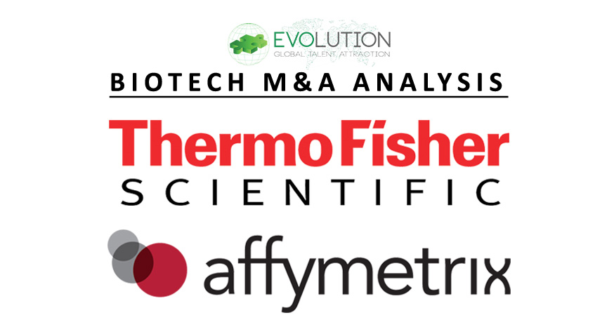 Evolution M&A Analysis: Thermo Fisher to Acquire Affymetrix for $1.3 billion