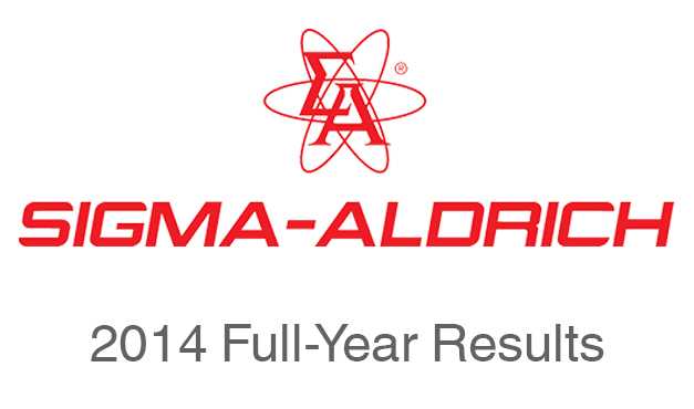 Sigma-Aldrich Reports Record Full-Year 2014 Sales