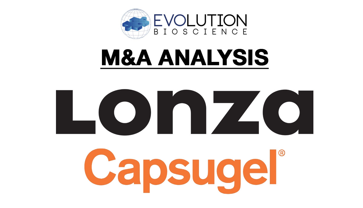 """Lonza's $5.5B Acquisition of Capsugel Accelerates its """"Healthcare Continuum"""" Strategy"""